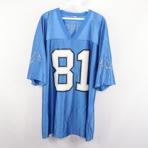 NFL Mens Large Detroit Lions Calvin Johnson Jersey